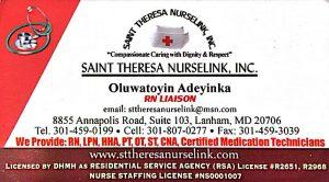 Saint Theresa Nurselink, INC